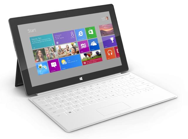 Начало продаж Microsoft Surface 1