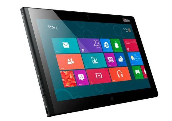 Lenovo анонсировала планшет Think Pad 2