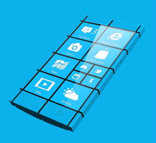 Дизайн Windows Phone 8