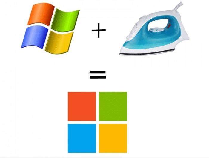 Эволюция логотипа Microsoft