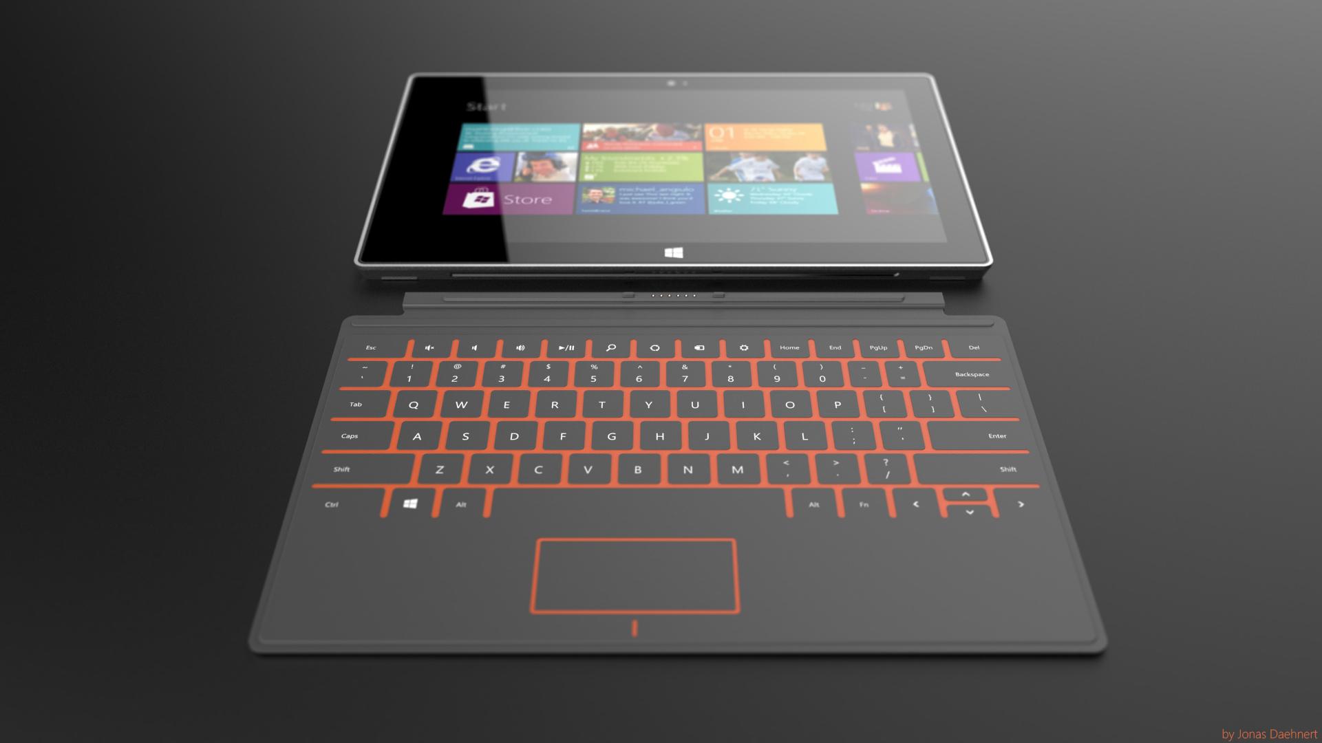 Концепт-арт Microsoft Surface
