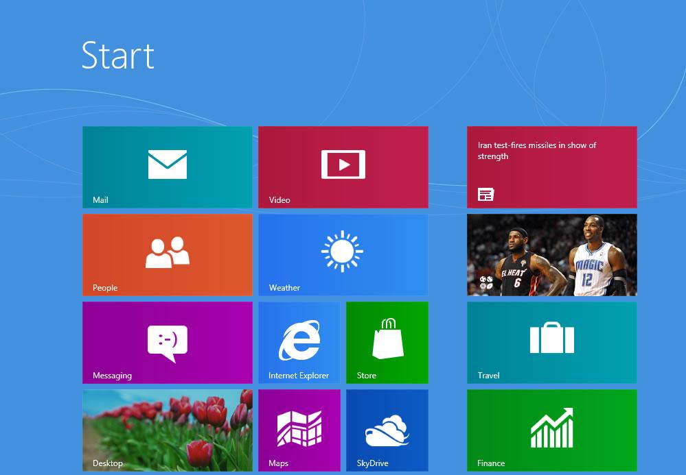 Полный перечень клавиатурных комбинаций Windows 8