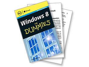 """Бесплатная копия книги Windows 8 """"для чайников"""""""