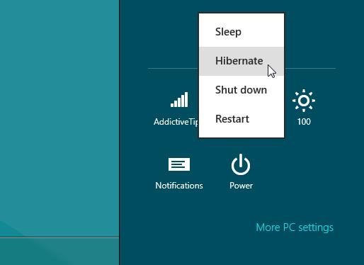 hibernate-windows-8
