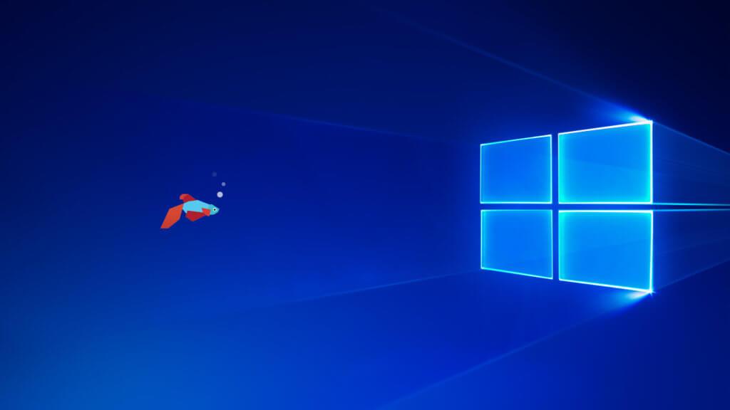 Неофициальные обои Windows 10 Creators Update
